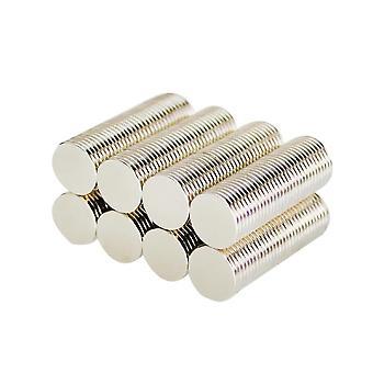 Neodym Magnet 10 x 1 mm Scheibe N35 - 100 Stück