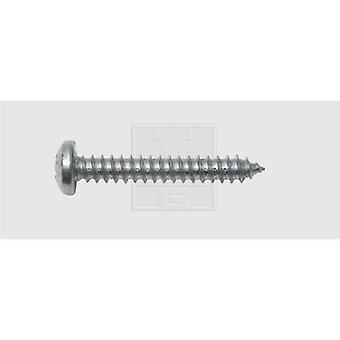 SWG Sheet metal screw 2.9 mm 9.5 mm Phillips DIN 7981 Steel zinc plated 100 pc(s)