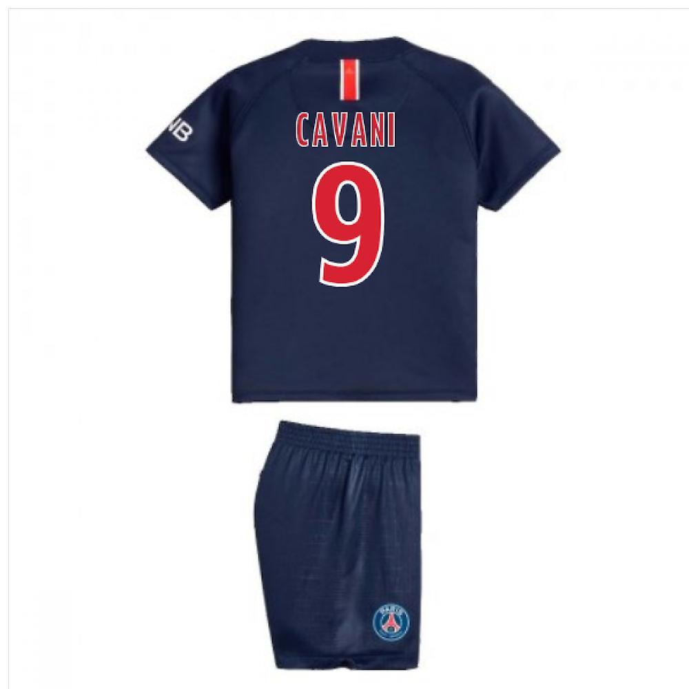 2018-2019 PSG Home Nike Baby Kit (Cavani 9)