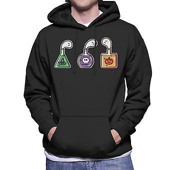 Halloween Ghost Potions Men's Hooded Sweatshirt
