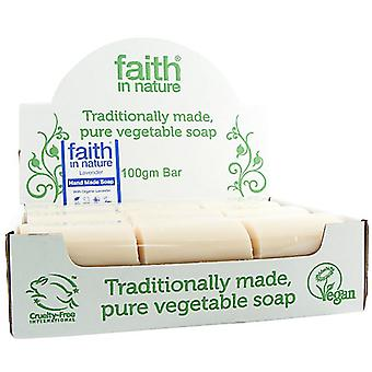 Faith in Nature, Lavender Soap Unwrapped, 18 box