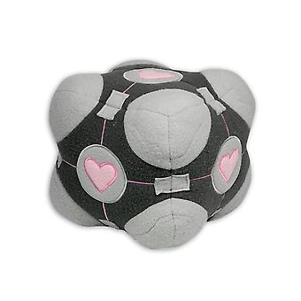 Portal Companion heart cube plush toy made of 100% polyester, from the Videospielkracher portal.