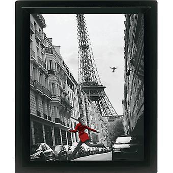 Paris, La Veste Rouge  3-D Lentikular-Poster im Rahmen Kleinformat