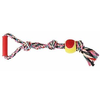 Trixie Denta Fun Playing Rope with Tennis Ball (Dogs , Toys & Sport , Balls , Ropes)