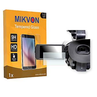 Sony PXW-X180 Screen Protector - Mikvon flexible Tempered Glass 9H (Retail Package with accessories)