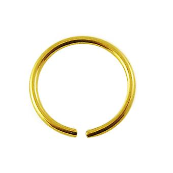 Nose Hoop Ring 14Ct Gelbgold