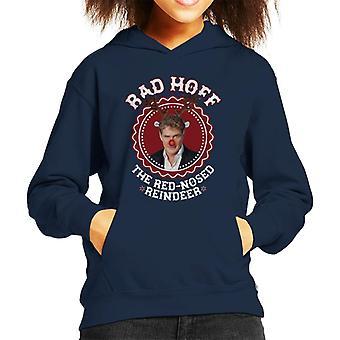 Felpa con cappuccio da David Hasselhoff Christmas Rad Hoff Rudolf Kid