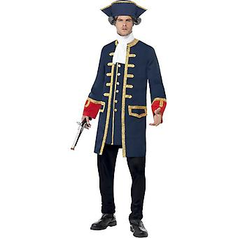 Smiffy de commandant van de piraat kostuum