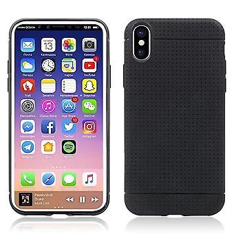 Mince, souple, boîtier noir - iPhone XS