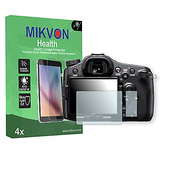 Sony Alpha 77 Screen Protector - Mikvon Health (Retail Package with accessories) (reduced foil)