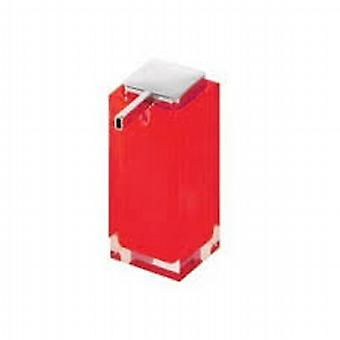 Rainbow Large Soap Dispenser Red RA80 06