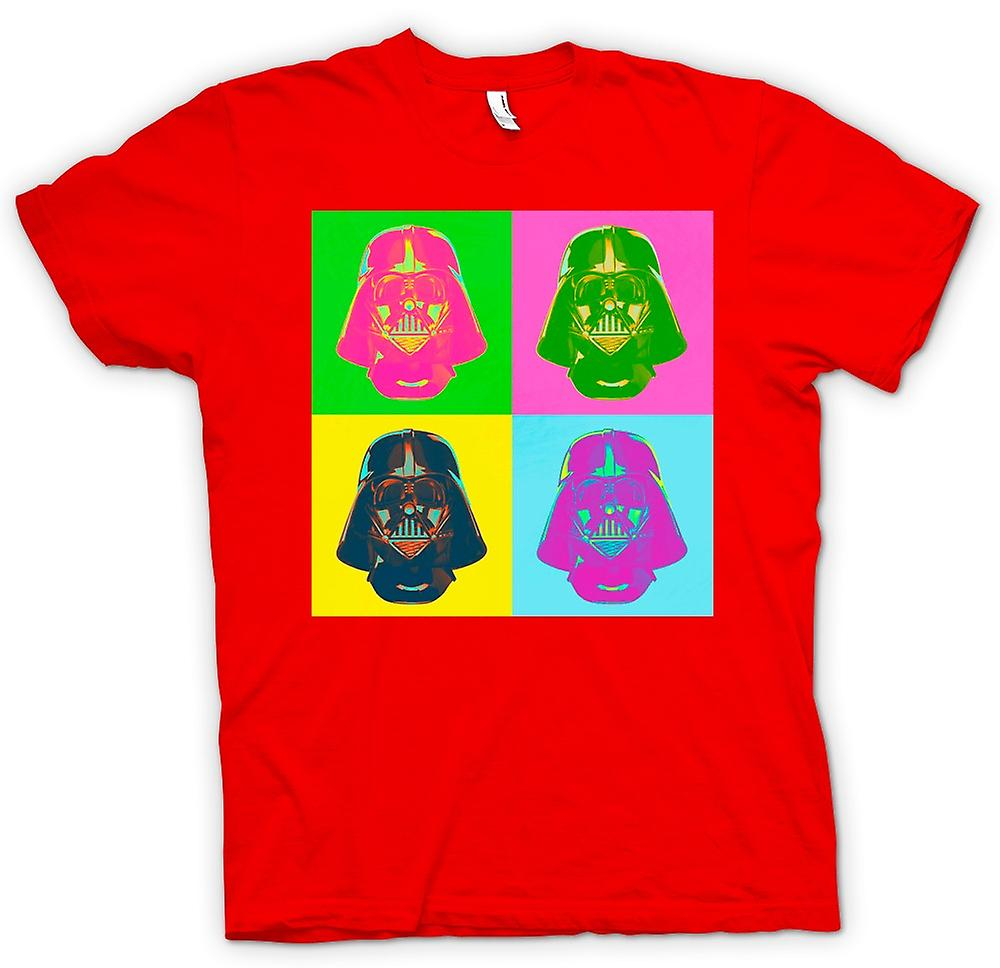 Herr T-shirt - Darth Vader - Star Wars - Warhol