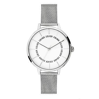 s.Oliver women's watch wristwatch stainless steel SO-3697-MQ