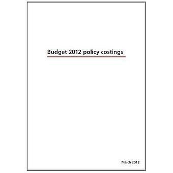 Budget 2012 Policy Costings