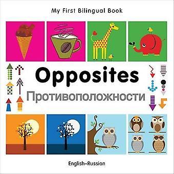 Mon premier livre bilingue - opposés: Anglais-russe