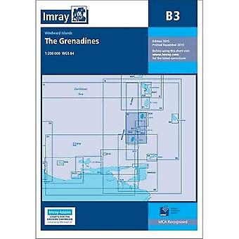 Imray Chart B3: The Grenadines- St Vincent to Grenada (Iolaire)