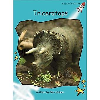 Triceratops: Level 2: Fluency (Red Rocket Readers: Non-fiction Set B)