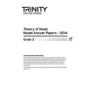 Trinity College London Music Theory Past Papers (2014) Grade 3