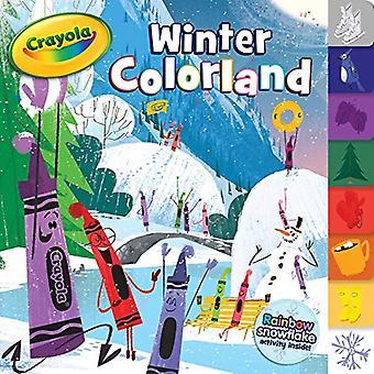 Colorland de inverno (Crayola) [livro de placa]