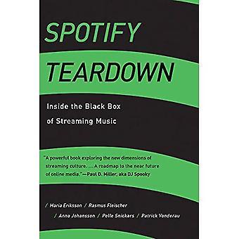 Desmontaje de Spotify: dentro de la caja negra de Streaming de música (la prensa MIT)