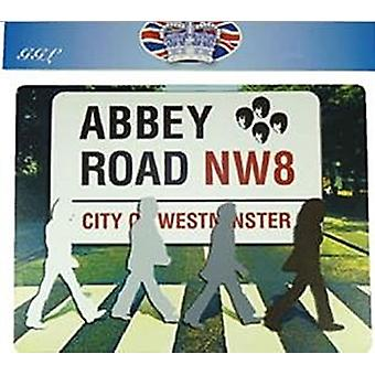 Abbey Road Beatles Silhouettes Mouse Mat 220mm x 180mm (gg)