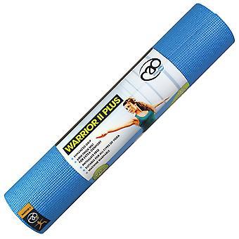 Fitness Mad Warrior II Plus yoga matte-6mm-blå