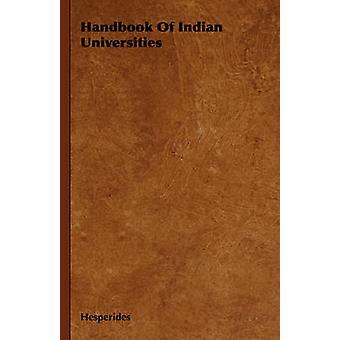 Manuel des universités indiennes par les Hespérides