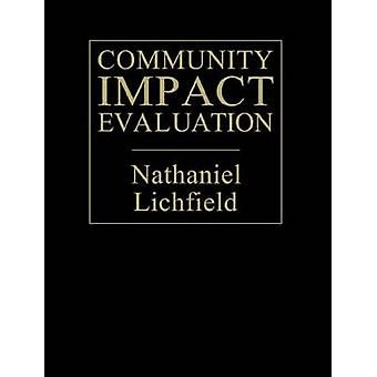 Community Impact Evaluation Principles and Practice by Lichfield & Nathaniel