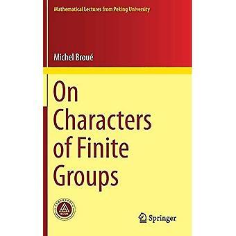 På tegn i begrænsede grupper (matematisk foredrag fra Peking University)