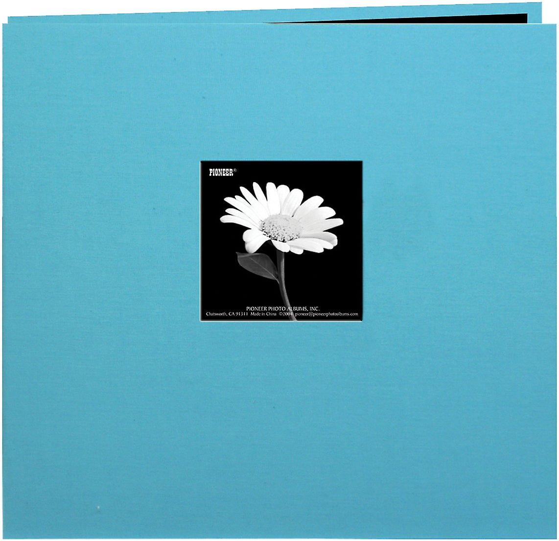 Pioneer livre tissu couverture de l'Album Post lié 12 & 034;X 12 -Bleu Turquoise