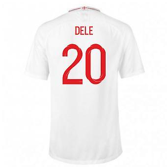 2018-2019 England Home Nike Football Shirt (Dele 20) - Kids