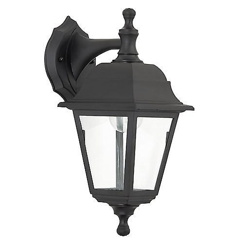 Saxby EL-40042 Pimlico Outdoor IP44 60W Wall Light In Black