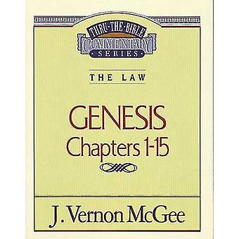 Genesis I by J Vernon McGee - 9780785202790 Book