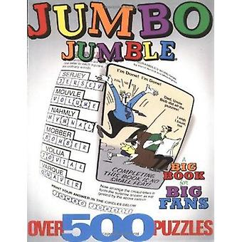 Jumbo Jumble½  - A Big Book for Big Fans Book