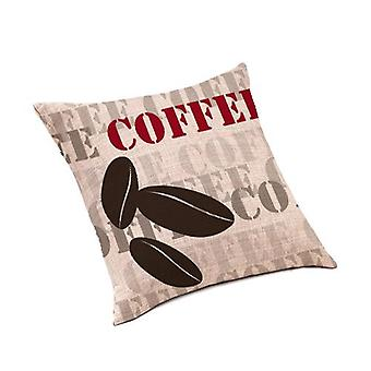 Loft 25® 'Rustic Collection' Beans Design Linen Scatter Cushion