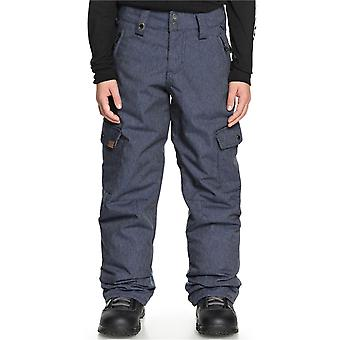 Quiksilver Dress Blues Porter Denim Kids Snowboard Hosen