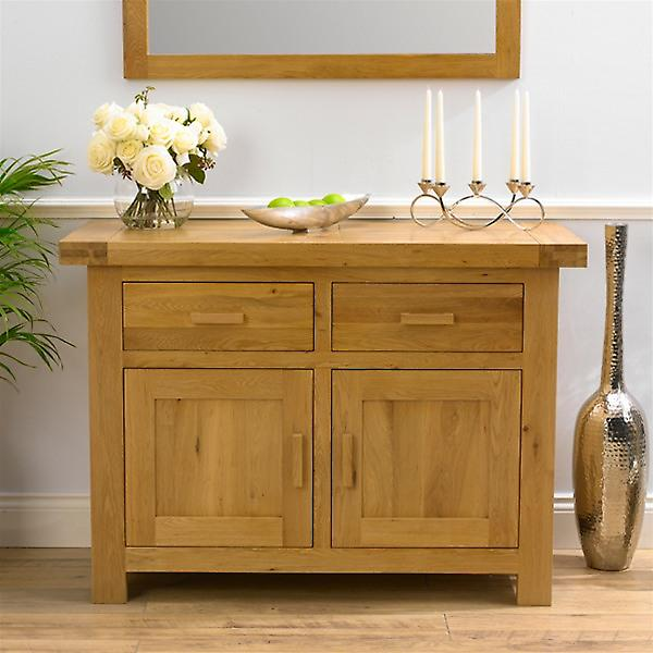 Avignon Oak Sideboard with 2 Doors & 2 Drawers