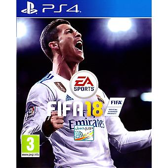 FIFA 18 PS4 spill (engelsk/arabisk boks)