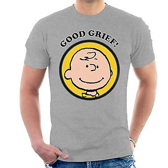 Peanuts Charlie Brown Good Grief Men's T-Shirt