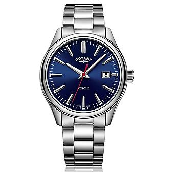 Rotary   Gents Stainless Steel Bracelet   Blue Dial   GB05092/53 Watch