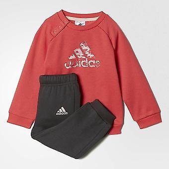 Adidas niemowląt dziewczyny Sport załogi dres zestaw BP5281