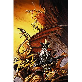 Poster - Studio B - 24x36 The Dragon Lord Wall Art CJ1468B