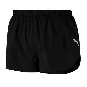 Puma Ignite Split Mens Running Fitness Training Gym Short Black