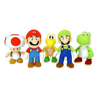 Super Mario 20 cm Plüsch (One Mitgeliefert)