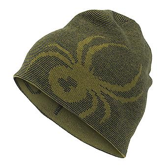 Spyder REVERSIBLE BUG Kids Ski Hat - Olive