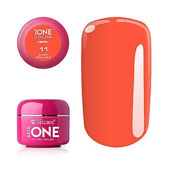 Base one Neon-Dark orange 5 g UV-gel