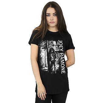 Joey Ramone kvinner ' s Street Sign kjæreste Fit T-skjorte