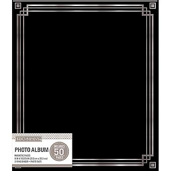K&Company Magnetic Binder Photo Album  -Black 30705852