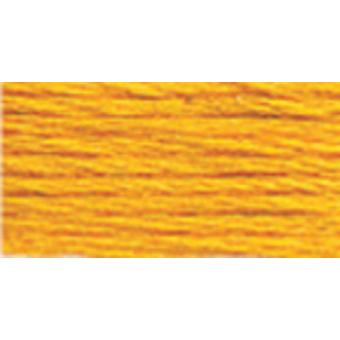 Tapisserie DMC & broderie laine Yards 8,8 jaune Orange 486 7436