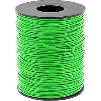 Jumper wire 1 x 0.2 mm² Green BELI-BECO D 105/100 verde 100 m